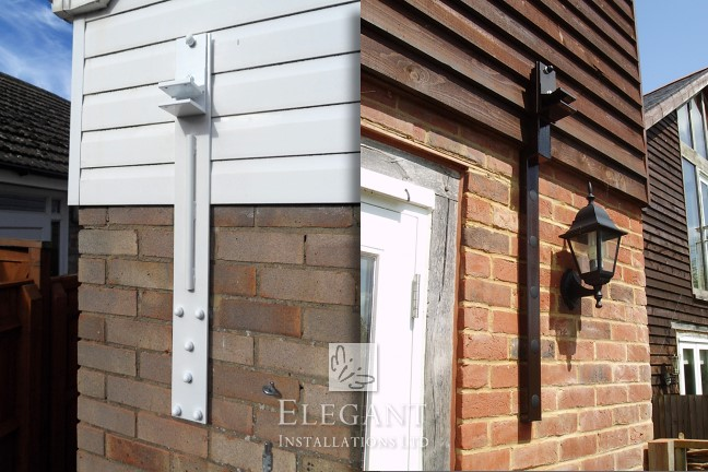 Special Awning Brackets - Awnings with Custom Made Brackets