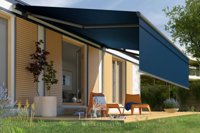 Patio Awnings With Side Screens