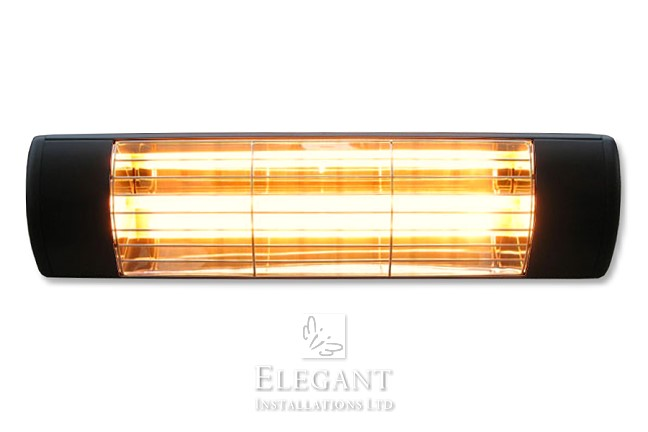 Infrared Quartz Electric Patio Awning Heaters By Elegant