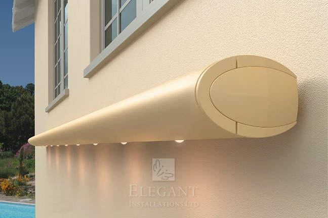 Awnings with Lights - Patio Awning Lights | by Elegant UK