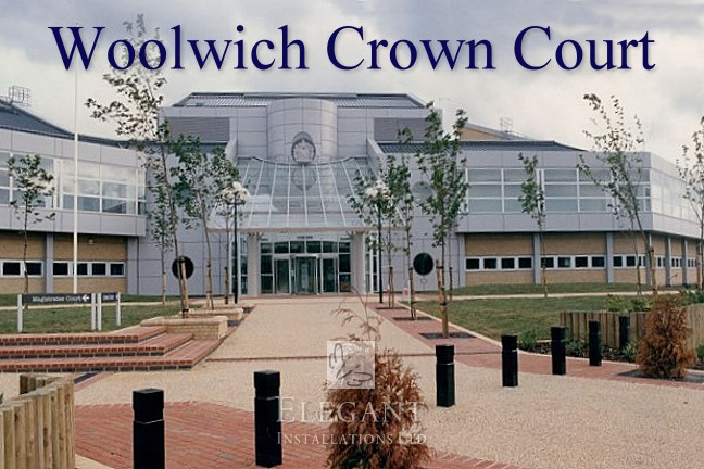 We have installed awnings for Woolwich High Security Crown Court