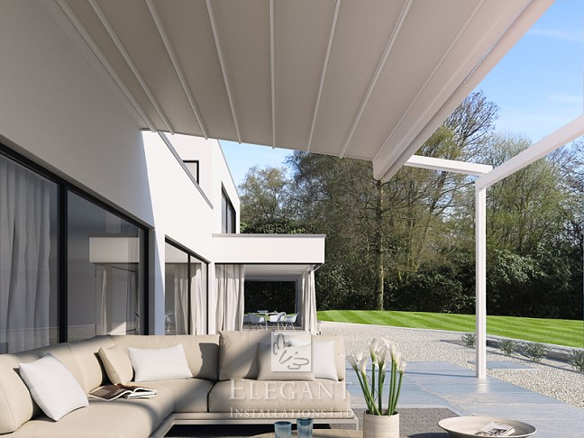 All Weather Awnings Uk Sun And Rain Awnings By Elegant