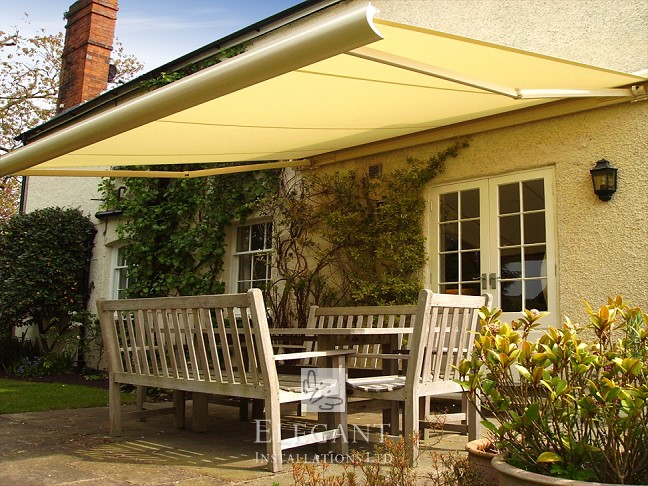 We install awnings for homes large and small