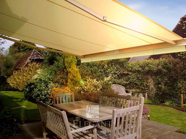 Electric Patio Awnings UK Fully Fitted