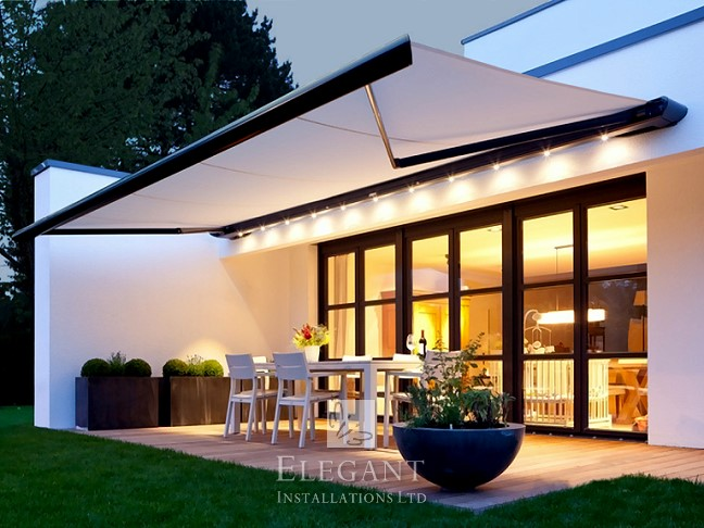 Patio Awning Picture Gallery - click-to-enlarge | Elegant UK