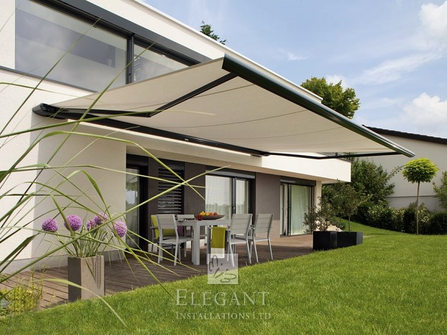 Patio Awnings UK - Quality Awnings Fully Fitted | by Elegant