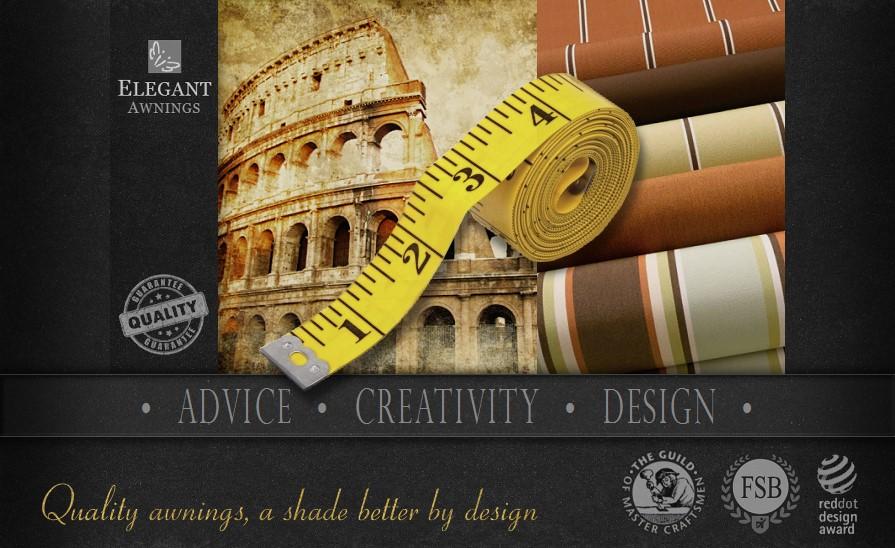 Arrange a Free Awning Design Consultation from Elegant